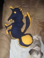 MSA - Amestris Dragon pillow by conrislupus