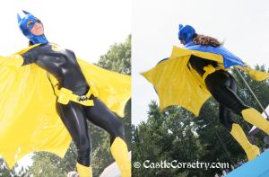 Batgirl Burlesque by CastleCorsetry