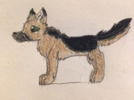 Mcsm Reginald as a wolf by chanelthecat