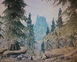 Whiterun from the road to Riverwood by GeneralThomas03