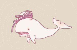 lady whale by kuniklo