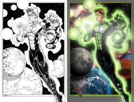 Green Lantern by Lawnz
