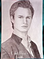 Ansel Elgort as Caleb Prior in Insurgent by ThresaDory