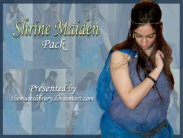 Shrine Maiden PACK by themuseslibrary