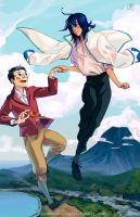 Manami'ss Moving Castle by theheadlessgirl