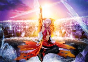 Inori Yuzuriha - Guilty Crown cosplay by yukigodbless