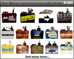 The Big TV-series icon collection by jof3r