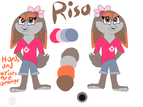 Risa Wilde ref by Levatheshapeshifter