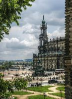 Court Church in Dresden by pingallery