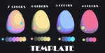 Template for Egg Adopts by kittystar123