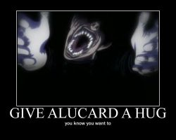alucard hug motivational by alucardserasfangirl
