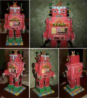 Gingerbread Robot by mostlymade