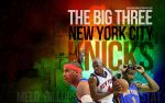 NYC Knicks Big Three Wallpaper by IshaanMishra