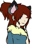 Commish- Chibi Katie Talksprite by DibFan4LifeX3