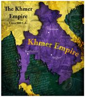 Civilization 5 Map: The Khmer by sukritact