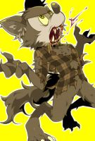 Wolfman Mickey by hentaib2319