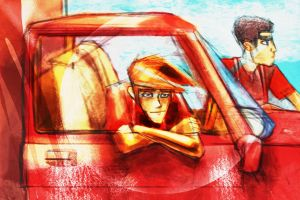 PJ End Credits Pinup: PJ Truck by ilovegarages