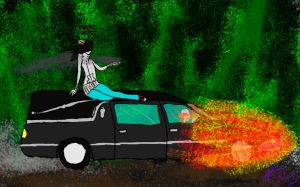 Lucifer - Limo ride to the afterlife by Squeek98j