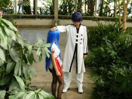 Fairy Tail Cosplay- Wendy and Gerard by HinaCrimson