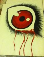Bloody Tears _canvas_ by Hitachiin94