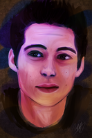 Conceptual Studies Final Piece - Dylan O'Brien by mazazuki