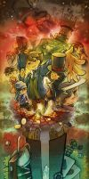 Professor Layton3 by khrssc