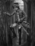 Eren Jaeger by yourcommonmuggle