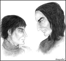 Quietus and Severus by thingrodiel