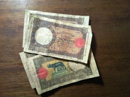 Reproduction 1937 50 Lira Banknotes by OttotheConfused