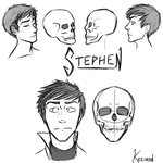 Stephen Study Doodles by Keeiran