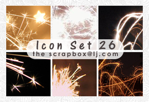Icon Texture Set 26 by bystrawbrry
