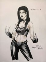 ECCC 2013 X-23 marker sketch by mechangel2002