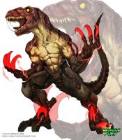 Ego-raptor for Beasts Fury by Chaos-Draco
