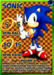 #1 Character: Sonic The Hedgehog by MrTumminia