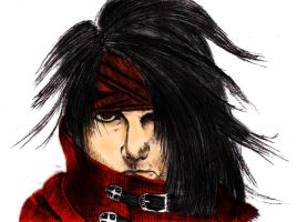 Vincent Valentine Colour by markeverard