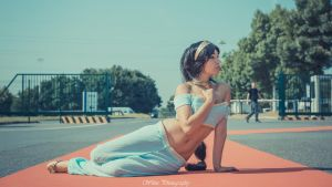 Princess Jasmine by jessnalnouna