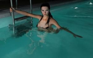 In The Pool (with Postwork) by 3dmania