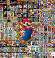 Mario's Games by sonictoast