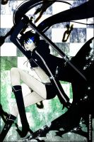 Black Rock Shooter by ROSEL-D