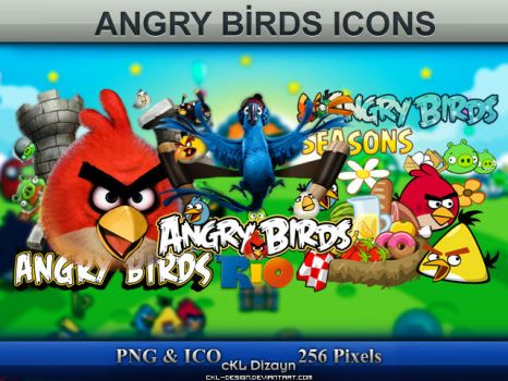 Angry Birds Series Icon Pack by cKL-Design
