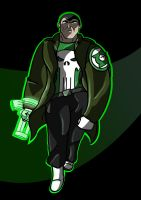 Punisher Lantern by warthogrampage