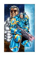 Cable Origins : Space Marine by Absalom7