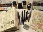 Pens, inks and bellyaches by MattiasA