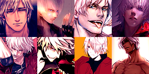 56 Dante Icons by ToxxicLovve