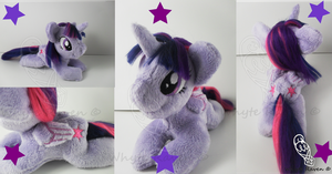 Twilight Sparkle MLP Plushie by Whyte-Raven