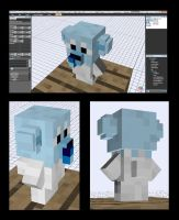 Minecraft Cubchoo Mob v-0.5 by FuzzyAcornIndustries