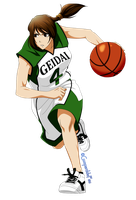Sayako - University Feminine Basketball team by GueparddeFeu