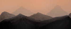 Mountains - Speedpainting 9 by ehecod