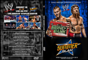 WWE Summer Slam 2013 DVD Cover by RaTeD-Gfx