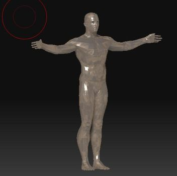 Poly 3d Man by tr4656
